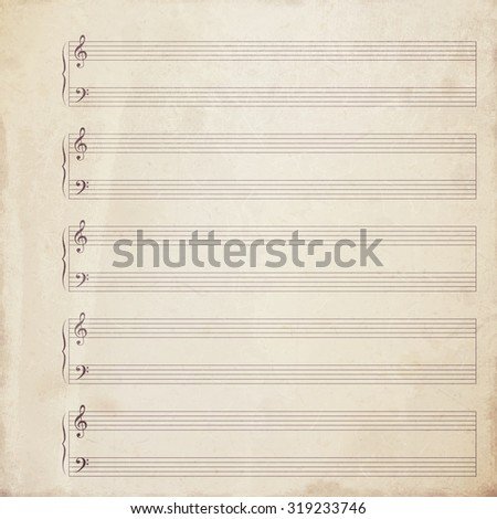 note paper background - stock photo