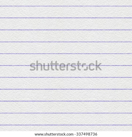Note paper background. Lined writing paper. Seamless pattern.  - stock photo