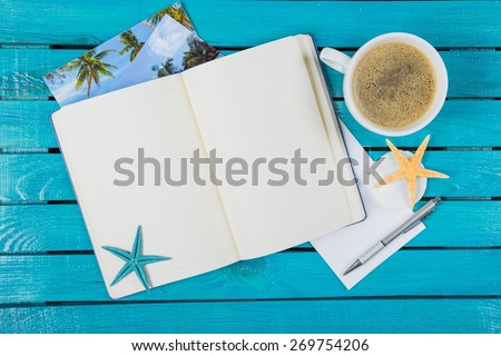 Note, paper, notepad. - stock photo