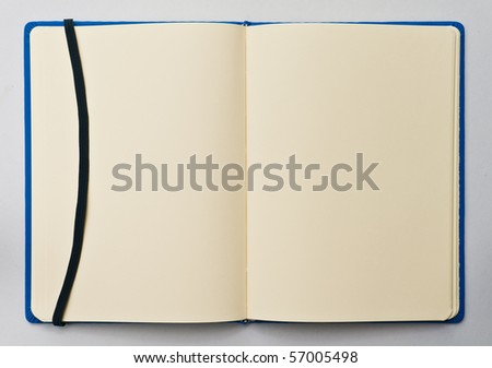 notebook background - stock photo