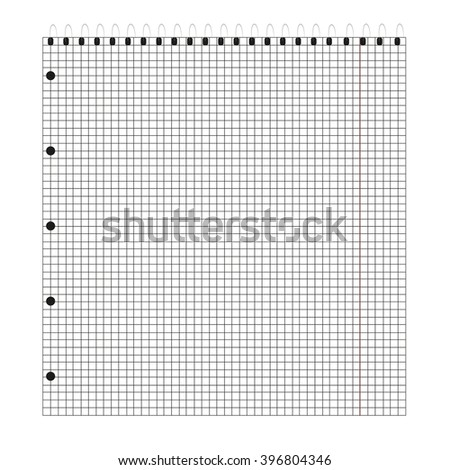 notebook  in the box - stock photo
