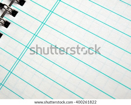 Notebook note pad page picture