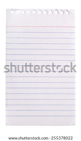 notebook paper background - stock photo