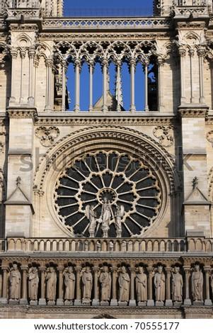 Notre-Dame de Paris - stock photo