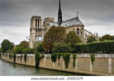 Notre Dame de Paris. Paris, France. - stock photo