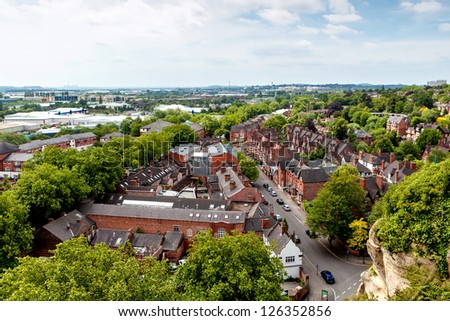 Nottingham - stock photo