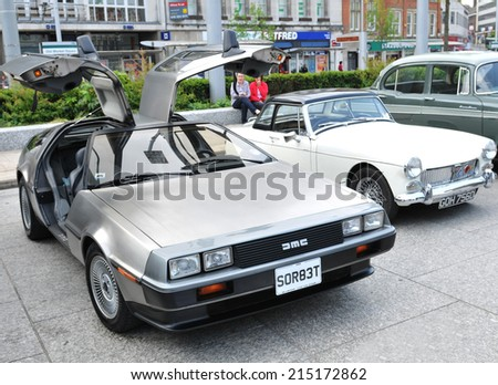 delorean stock images royalty free images vectors shutterstock. Black Bedroom Furniture Sets. Home Design Ideas