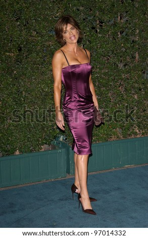 Nov 17, 2004; Los Angeles, CA: Actress LISA RINNA at the 14th Annual Environmental Media Awards in Los Angeles.