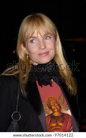 Nov 16, 2004; Los Angeles, CA: Actress REBECCA DE MORNAY at the world premiere, in Hollywood, of Alexander.