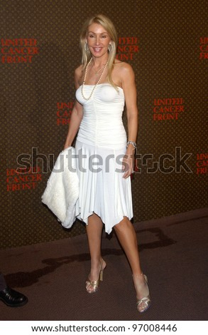 Nov 8, 2004; Los Angeles, CA; Composer LINDA THOMPSON at the Louis Vuitton United Cancer Front Gala at Universal Studios, California. - stock photo