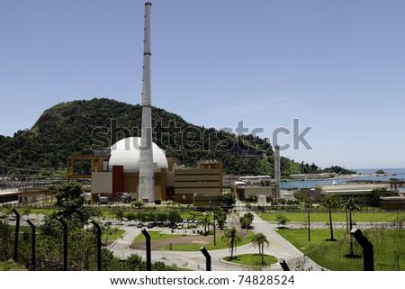 Nuclear plant, Rio de Jneiro - stock photo