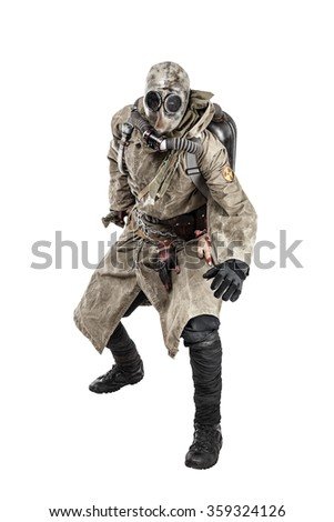 Nuclear post apocalypse - stock photo