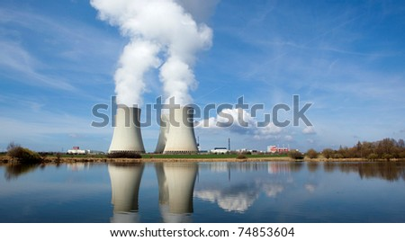 Nuclear power plant Temelin, Czech republic