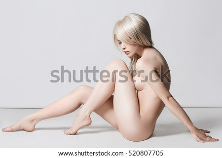 Almost Naked Junior stock photos and great body
