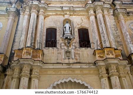 Nuestra Senora de la Merced Church, Havana, Cuba - stock photo