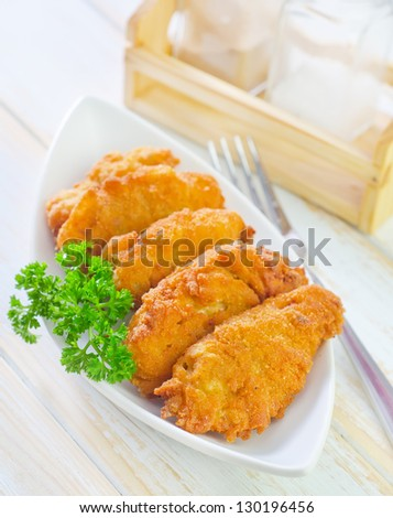 nugets - stock photo