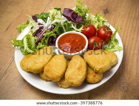 Nuggets - stock photo