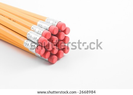 Number 2 Pencils - stock photo