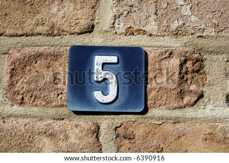 Numbers are fun! (serie, others available) - stock photo