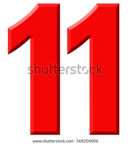 Number Eleven Stock Images, Royalty-Free Images & Vectors ...