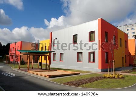 Nursery school - stock photo