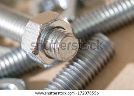 Nuts & bolts - stock photo