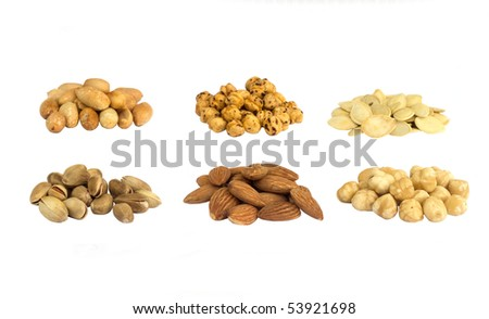Nuts Isolated - stock photo