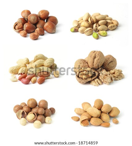 Nuts mix - stock photo