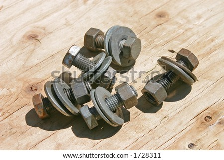 Nuts N Bolts - stock photo