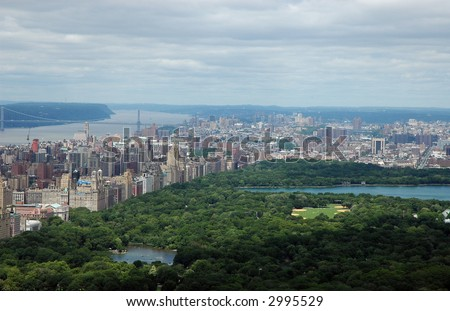 NYC Central Park - stock photo