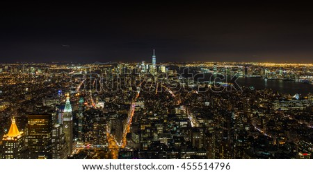 NYC Night Scene