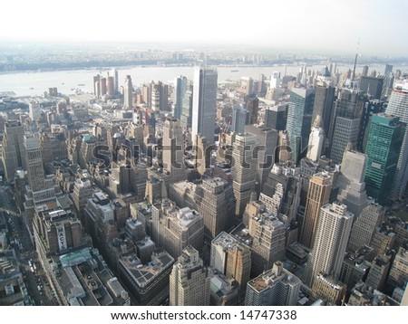 NYC Skyline - stock photo
