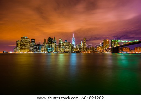 NYC Skyline/World Trade Center