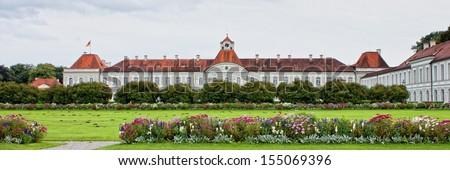 Nymphenburg castle, Munich, Germany - stock photo