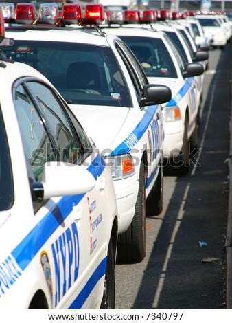 NYPD Police - stock photo