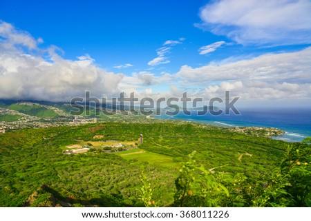 Oahu Island, Hawaii, USA - stock photo