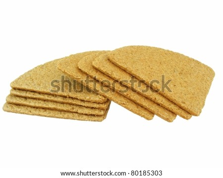 Oatcakes - stock photo