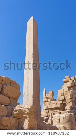 obelisk - stock photo