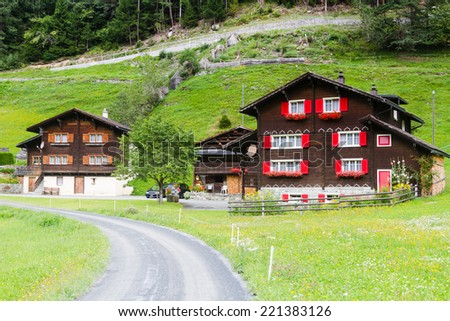 Oberalp, Switzerland. - stock photo