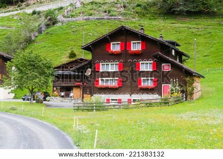 Oberalp, Switzerland. - stock photo