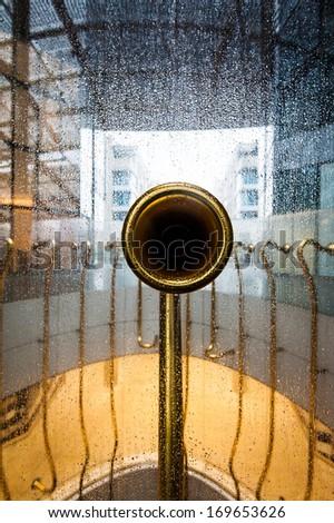object d'art copper - stock photo