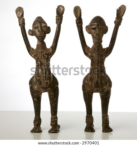 object from africa - stock photo