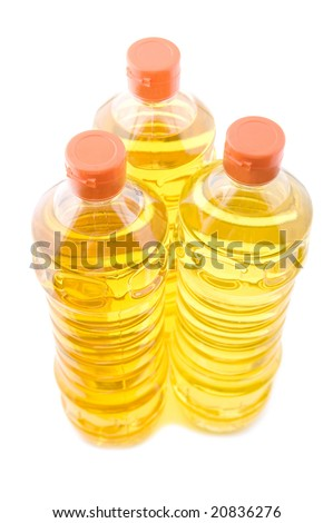 object on white - food corn oil