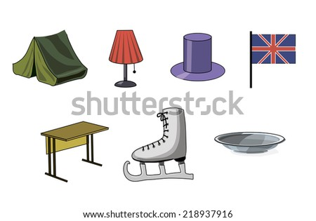 objects - stock photo
