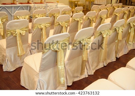objects for decorate wedding party