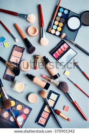 Objects for makeup - stock photo