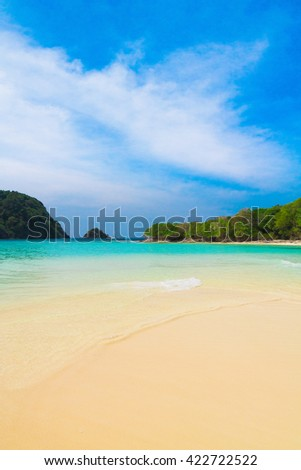 Oblivion Waters Hideaway Scene  - stock photo