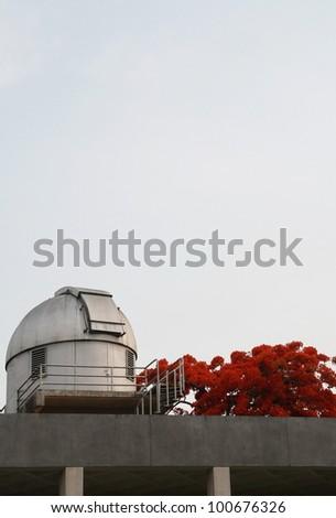 observatory - stock photo