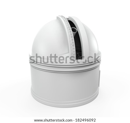 Observatory Dome - stock photo