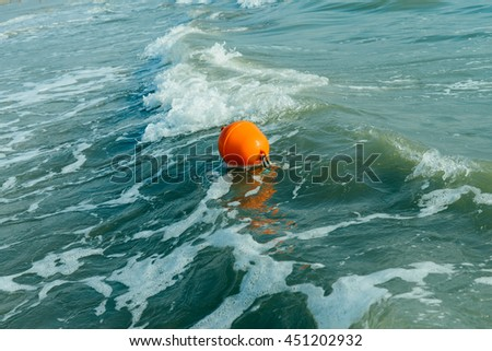Ocean background: sea shore, turquoise waves, splashes, breaking wave, surf,  - stock photo